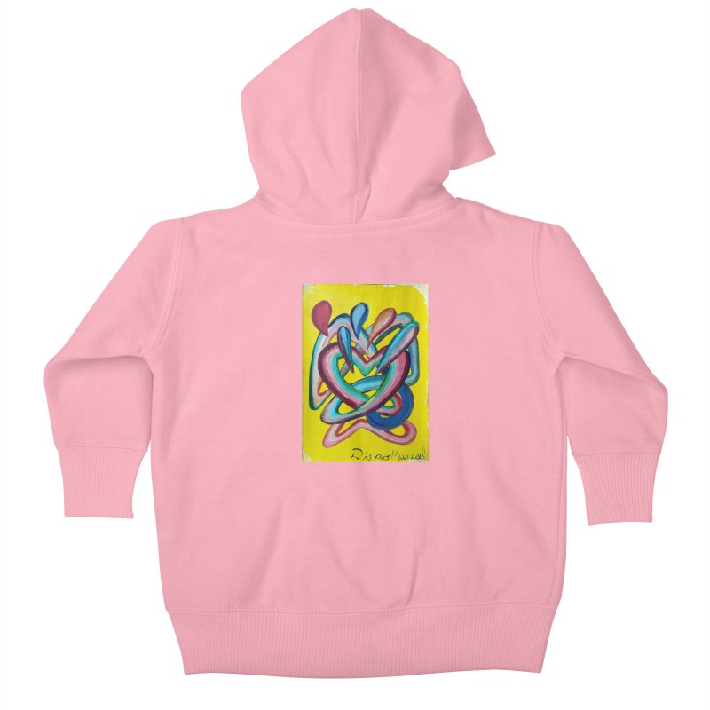 Formas en el espacio 4 Kids Baby Zip-Up Hoody by Diego Manuel Rodriguez Artist Shop