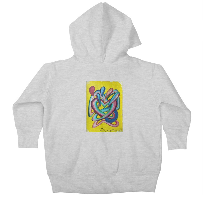 Formas en el espacio 4 Kids Baby Zip-Up Hoody by diegomanuel's Artist Shop