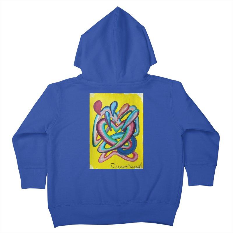 Formas en el espacio 4 Kids Toddler Zip-Up Hoody by diegomanuel's Artist Shop