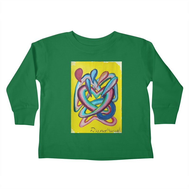Formas en el espacio 4 Kids Toddler Longsleeve T-Shirt by diegomanuel's Artist Shop