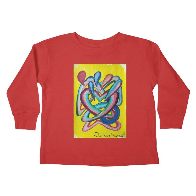 Formas en el espacio 4 Kids Toddler Longsleeve T-Shirt by Diego Manuel Rodriguez Artist Shop