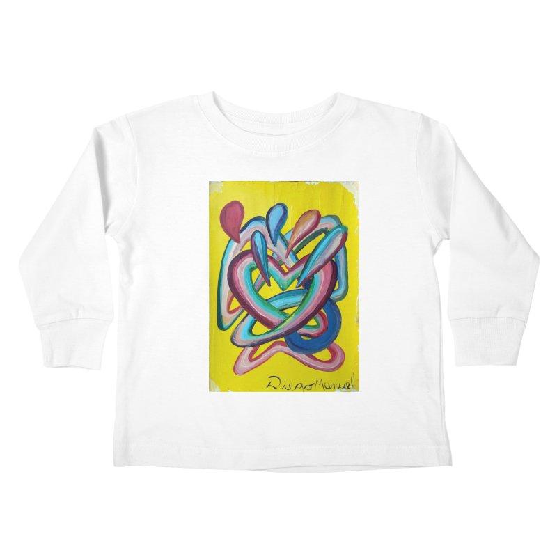 Formas en el espacio 4 Kids Toddler Longsleeve T-Shirt by diegomanuel's Artist Shop