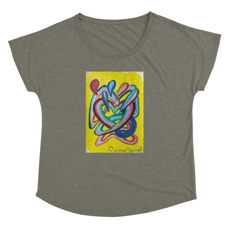 Formas en el espacio 4 Women's Dolman by diegomanuel's Artist Shop