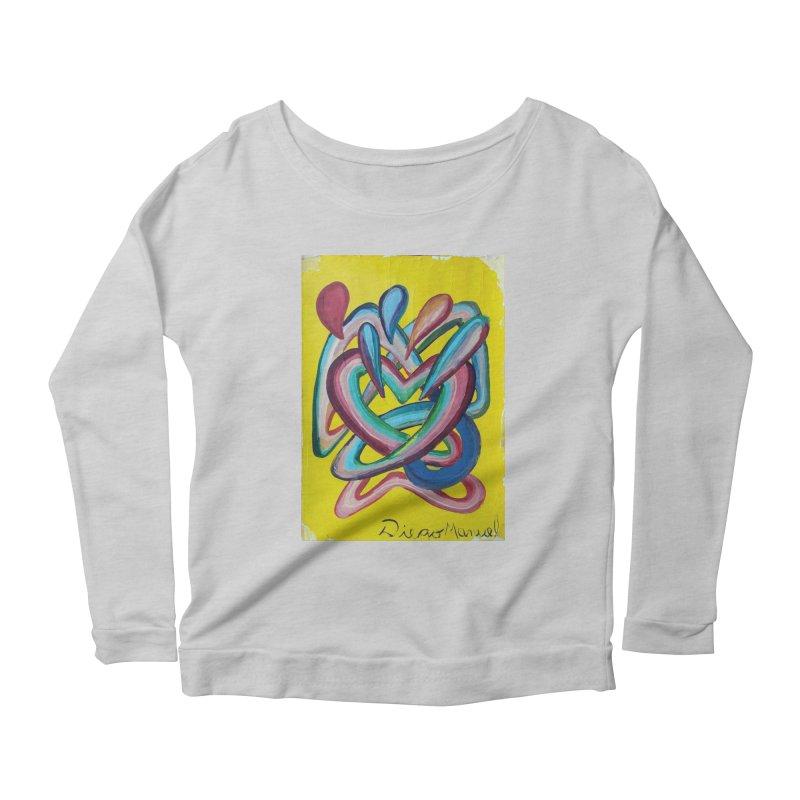 Formas en el espacio 4 Women's Scoop Neck Longsleeve T-Shirt by diegomanuel's Artist Shop