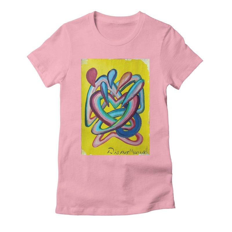Formas en el espacio 4 Women's Fitted T-Shirt by diegomanuel's Artist Shop