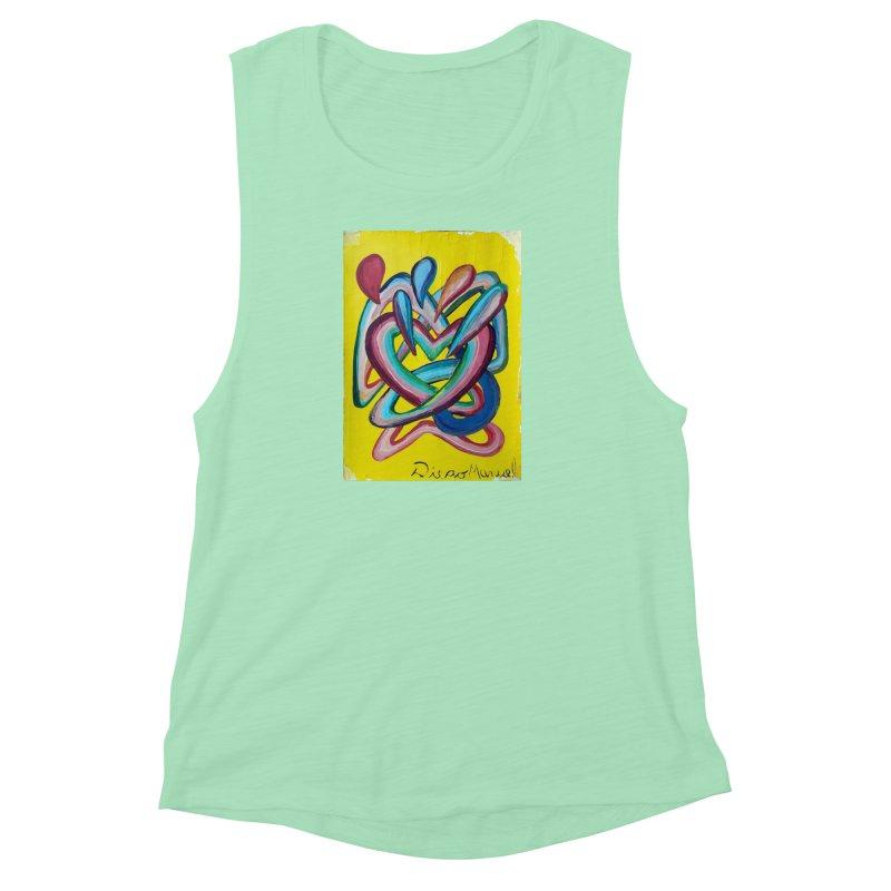 Formas en el espacio 4 Women's Muscle Tank by diegomanuel's Artist Shop