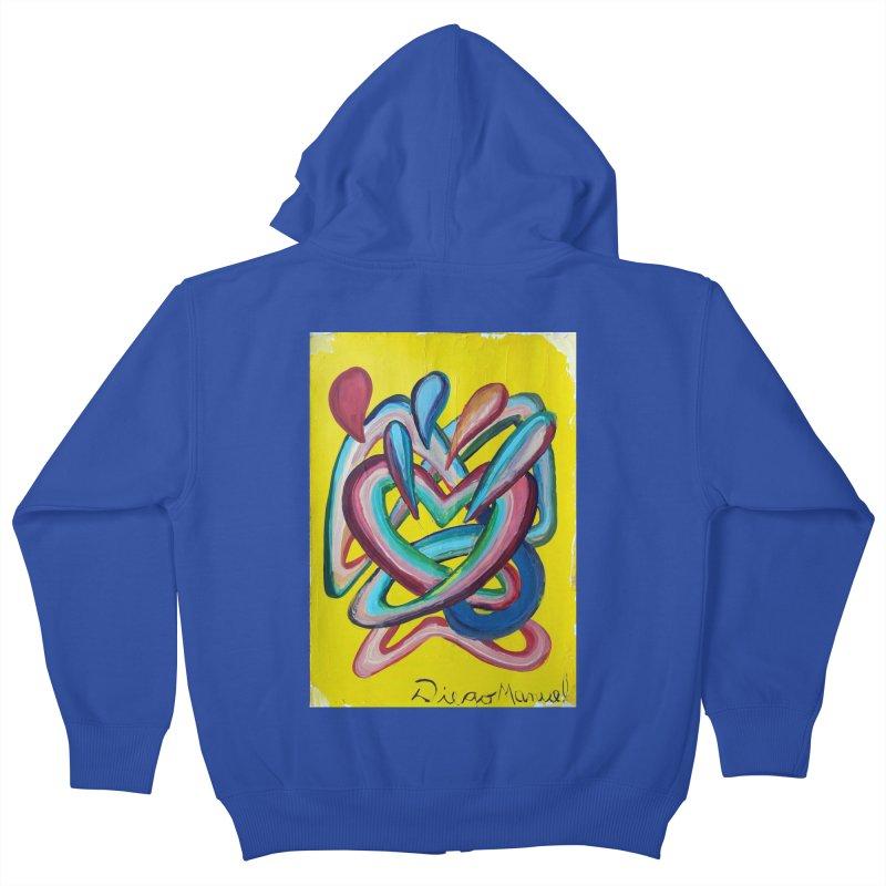 Formas en el espacio 4 Kids Zip-Up Hoody by diegomanuel's Artist Shop