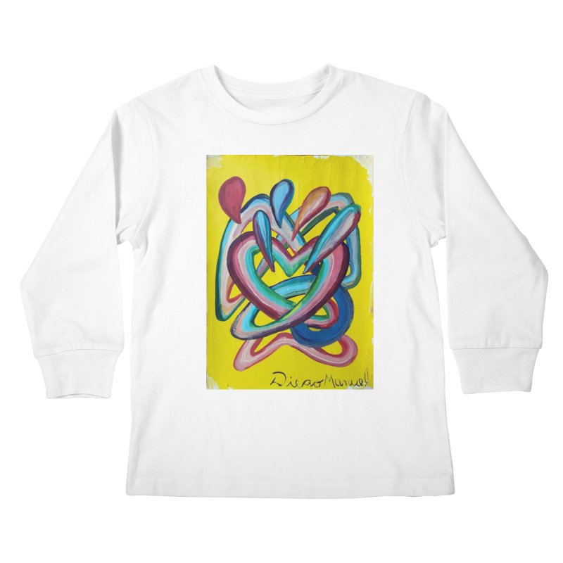 Formas en el espacio 4 Kids Longsleeve T-Shirt by diegomanuel's Artist Shop