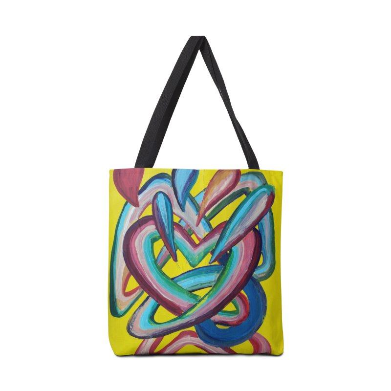Formas en el espacio 4 Accessories Bag by diegomanuel's Artist Shop