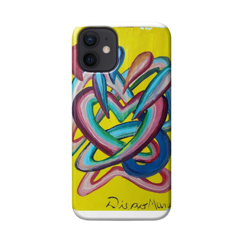 Formas en el espacio 4 Accessories Phone Case by Diego Manuel Rodriguez Artist Shop