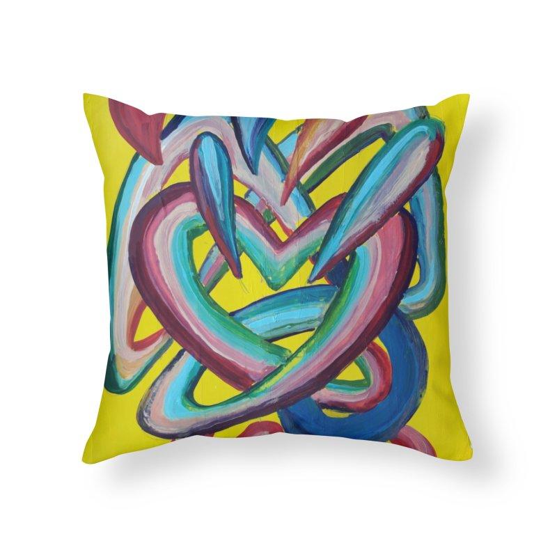 Formas en el espacio 4 Home Throw Pillow by Diego Manuel Rodriguez Artist Shop