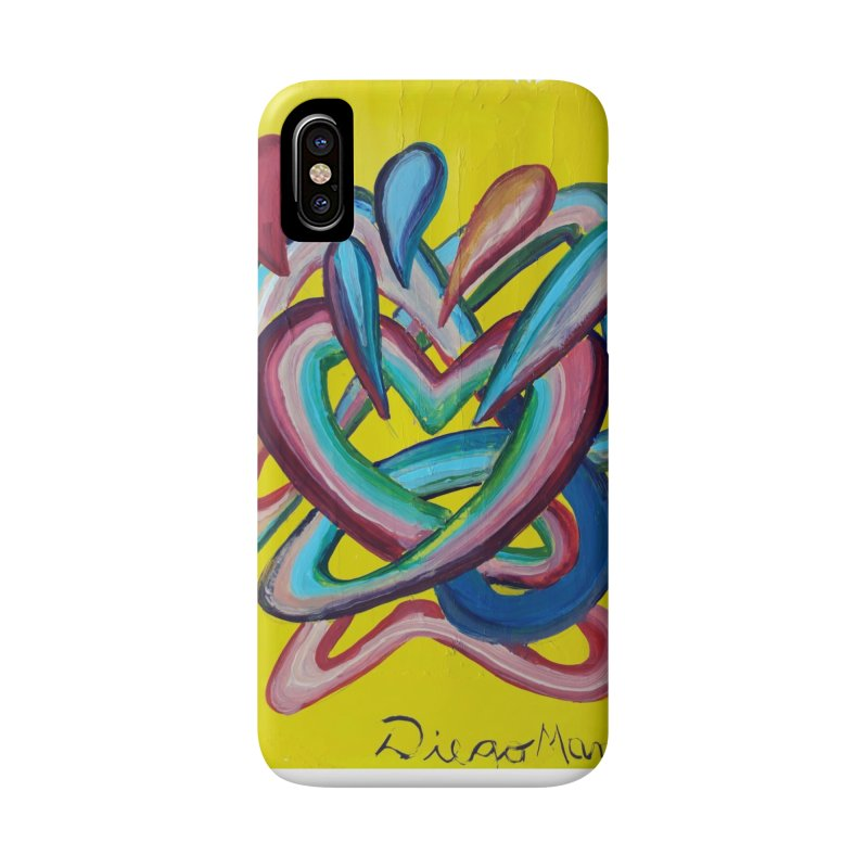 Formas en el espacio 4 Accessories Phone Case by diegomanuel's Artist Shop