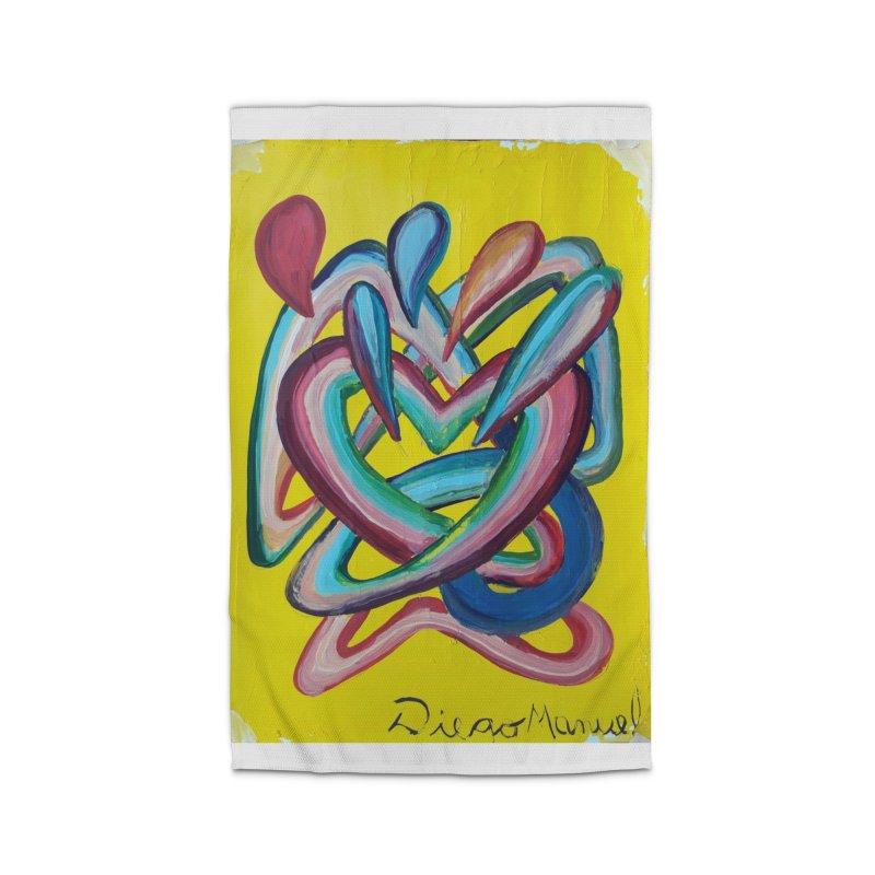 Formas en el espacio 4 Home Rug by diegomanuel's Artist Shop