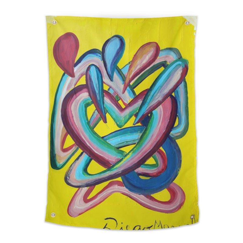 Formas en el espacio 4 Home Tapestry by diegomanuel's Artist Shop