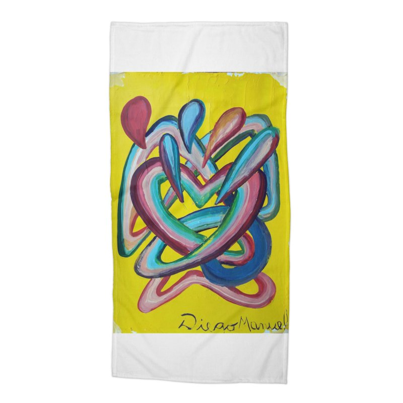 Formas en el espacio 4 Accessories Beach Towel by diegomanuel's Artist Shop