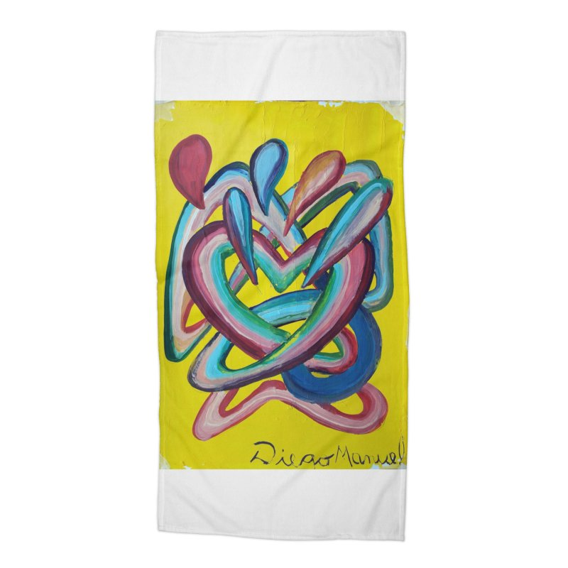 Formas en el espacio 4 Accessories Beach Towel by Diego Manuel Rodriguez Artist Shop