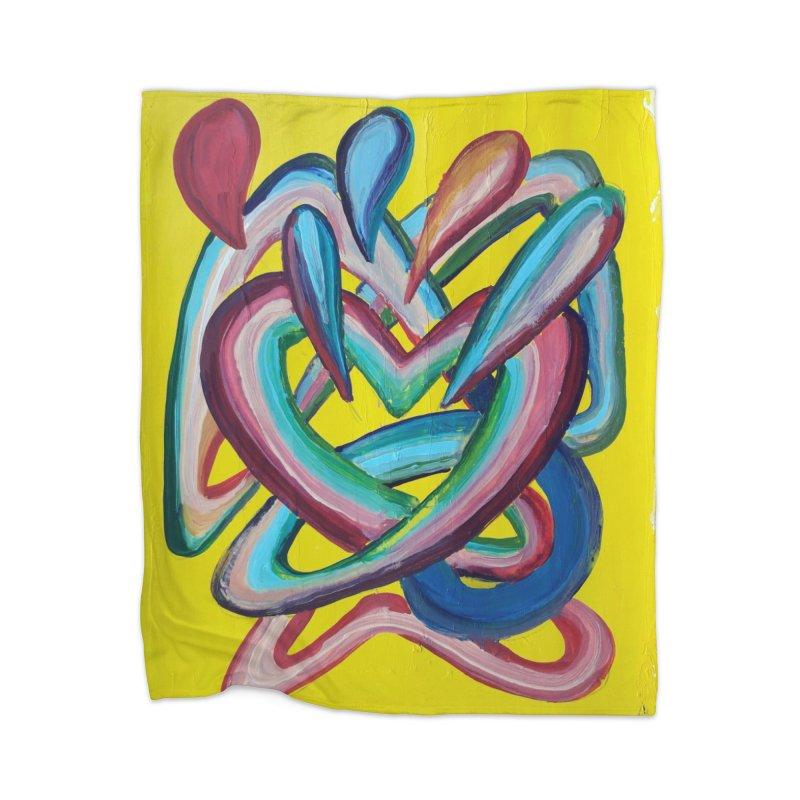 Formas en el espacio 4 Home Blanket by Diego Manuel Rodriguez Artist Shop