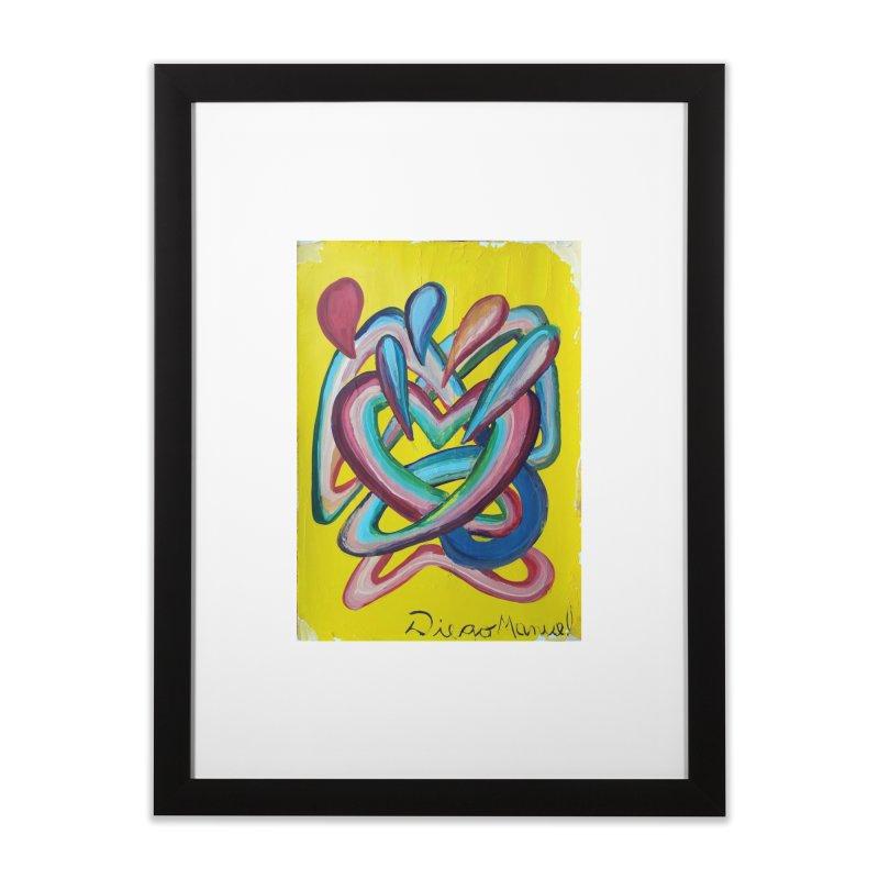 Formas en el espacio 4 Home Framed Fine Art Print by Diego Manuel Rodriguez Artist Shop