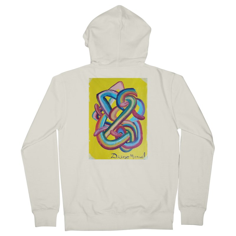 Formas en el espacio 3 Men's Zip-Up Hoody by diegomanuel's Artist Shop