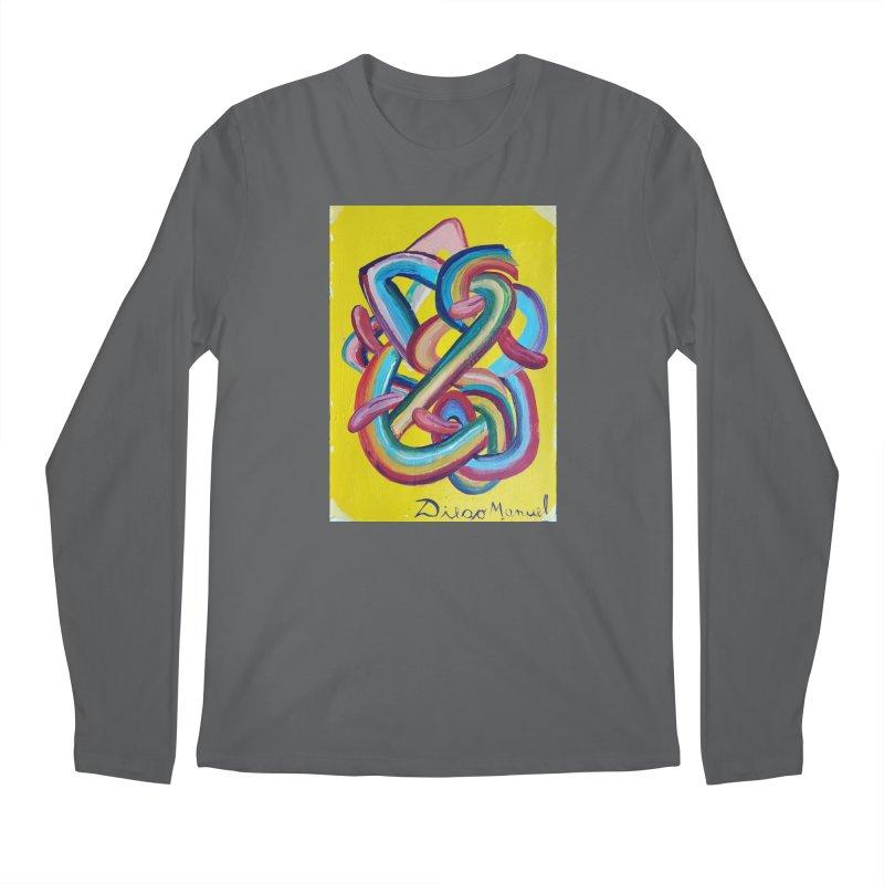 Formas en el espacio 3 Men's Longsleeve T-Shirt by Diego Manuel Rodriguez Artist Shop