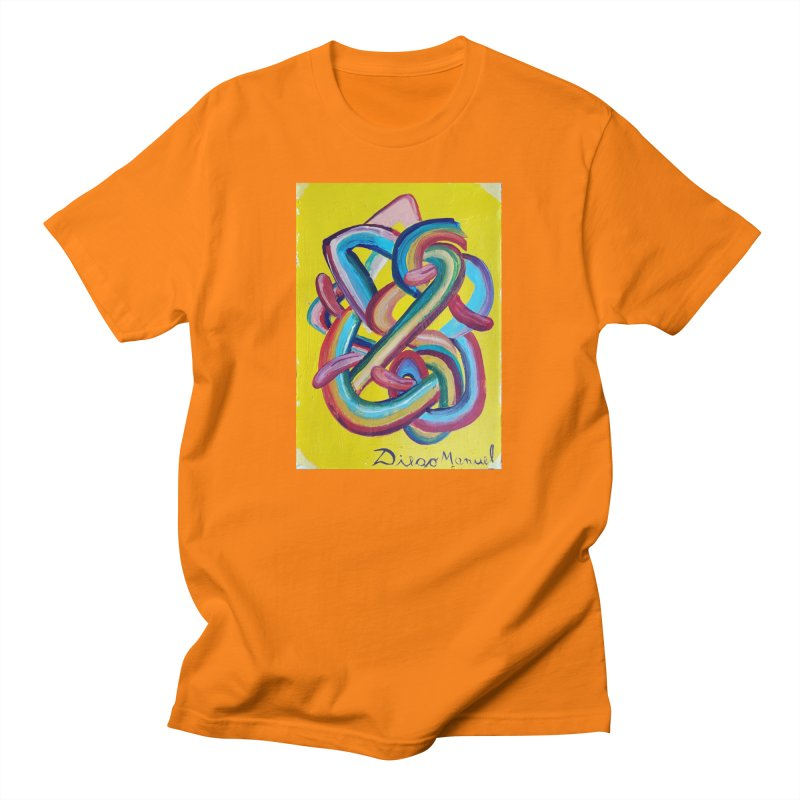 Formas en el espacio 3 Men's T-Shirt by Diego Manuel Rodriguez Artist Shop