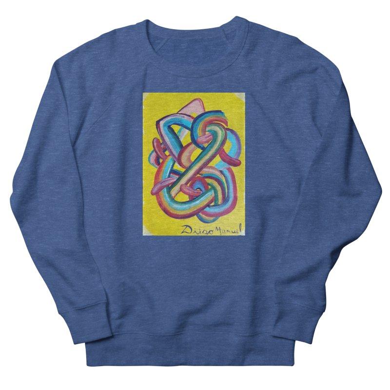 Formas en el espacio 3 Men's Sweatshirt by Diego Manuel Rodriguez Artist Shop