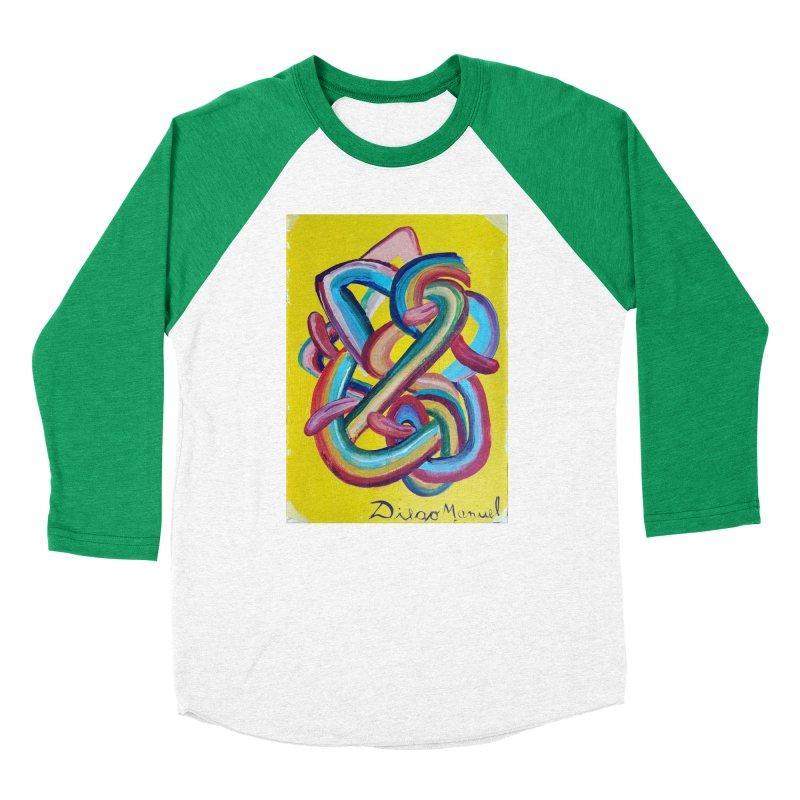 Formas en el espacio 3 Men's Baseball Triblend T-Shirt by diegomanuel's Artist Shop