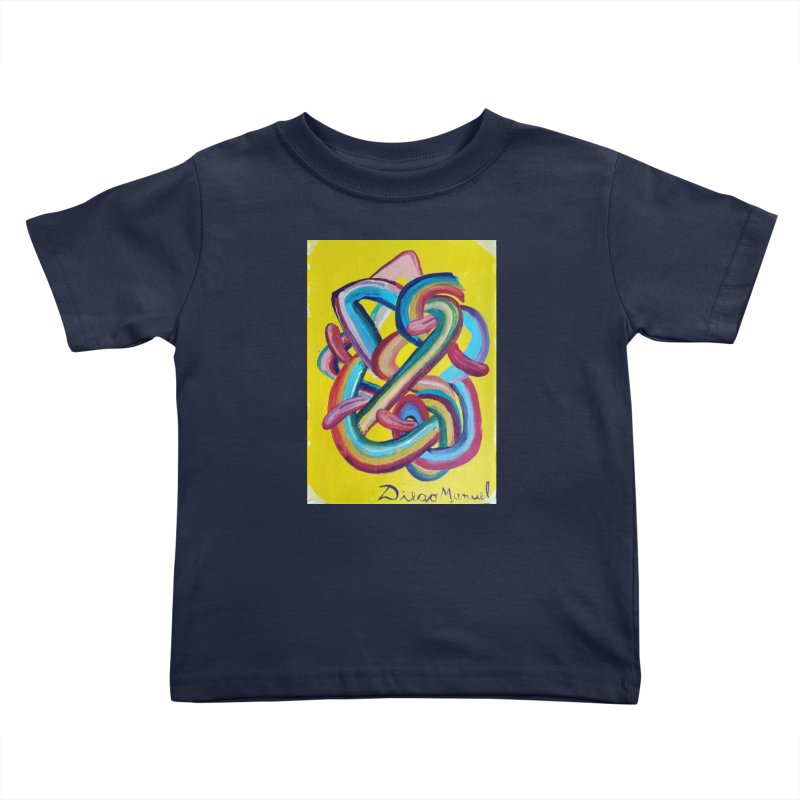 Formas en el espacio 3 Kids Toddler T-Shirt by diegomanuel's Artist Shop