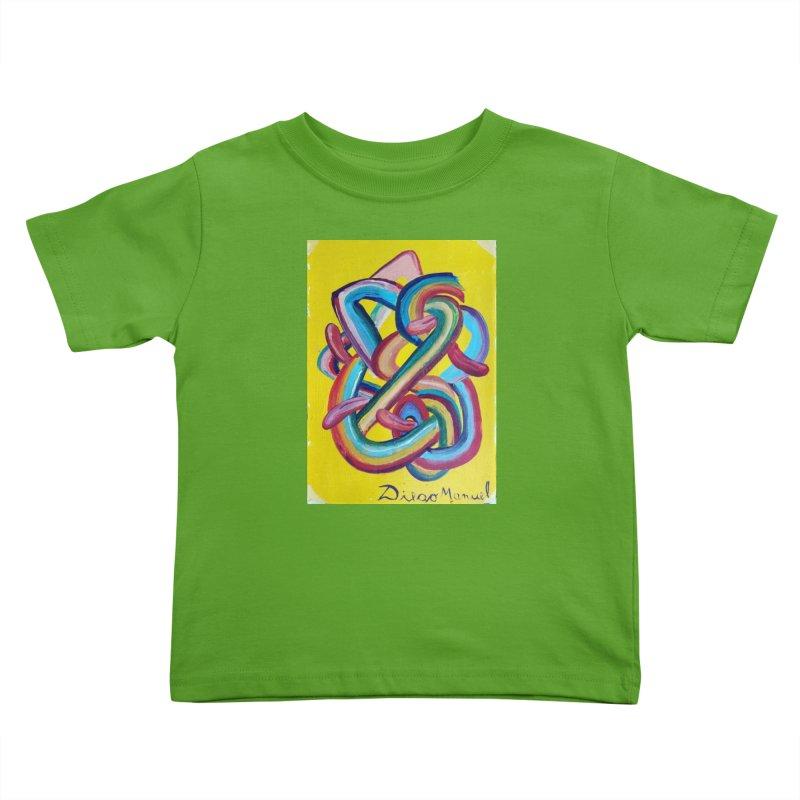 Formas en el espacio 3 Kids Toddler T-Shirt by Diego Manuel Rodriguez Artist Shop