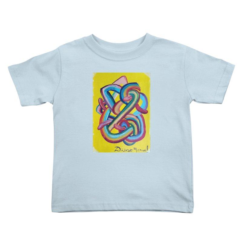 Formas en el espacio 3 Kids Toddler T-Shirt by diegomanuel's Artist Shop