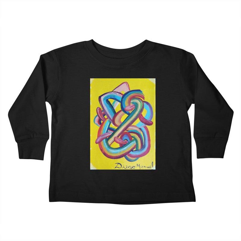 Formas en el espacio 3 Kids Toddler Longsleeve T-Shirt by Diego Manuel Rodriguez Artist Shop