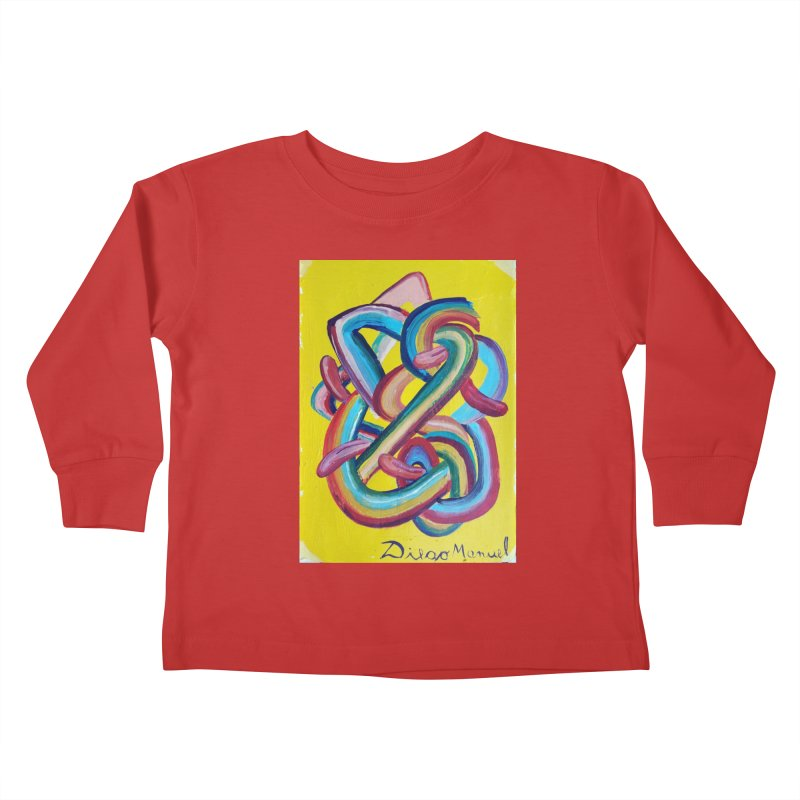 Formas en el espacio 3 Kids Toddler Longsleeve T-Shirt by diegomanuel's Artist Shop
