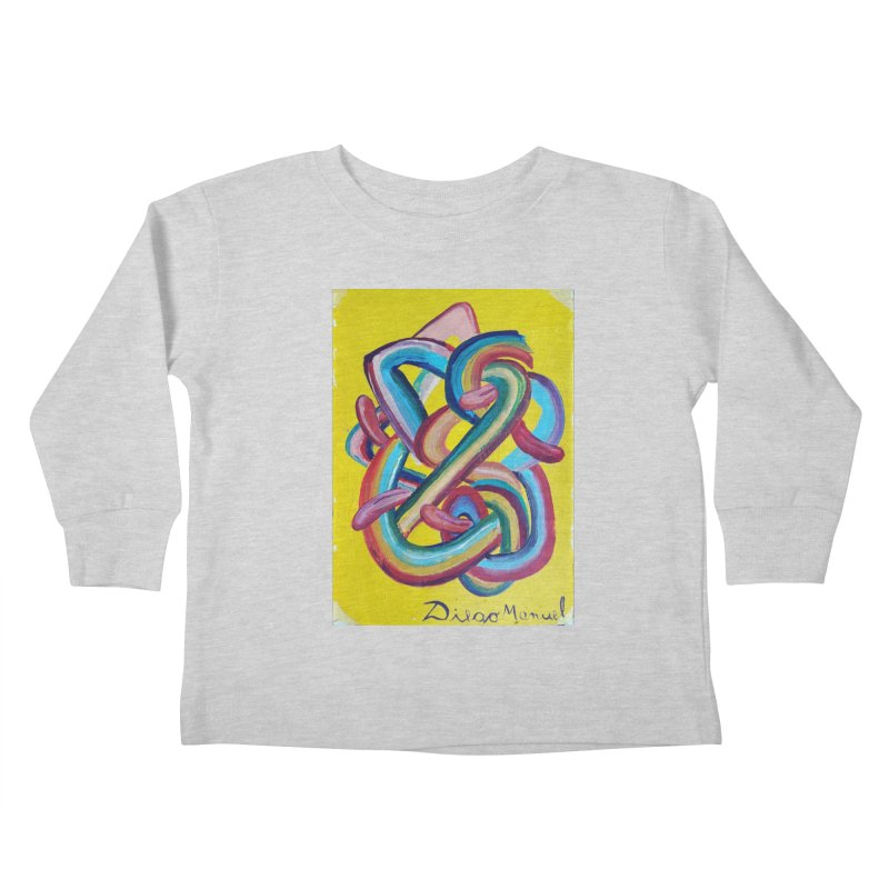 Formas en el espacio 3 Kids Toddler Longsleeve T-Shirt by diegomanuel's Artist Shop