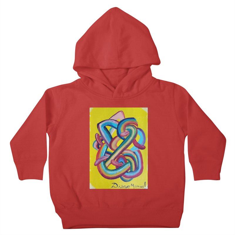 Formas en el espacio 3 Kids Toddler Pullover Hoody by diegomanuel's Artist Shop