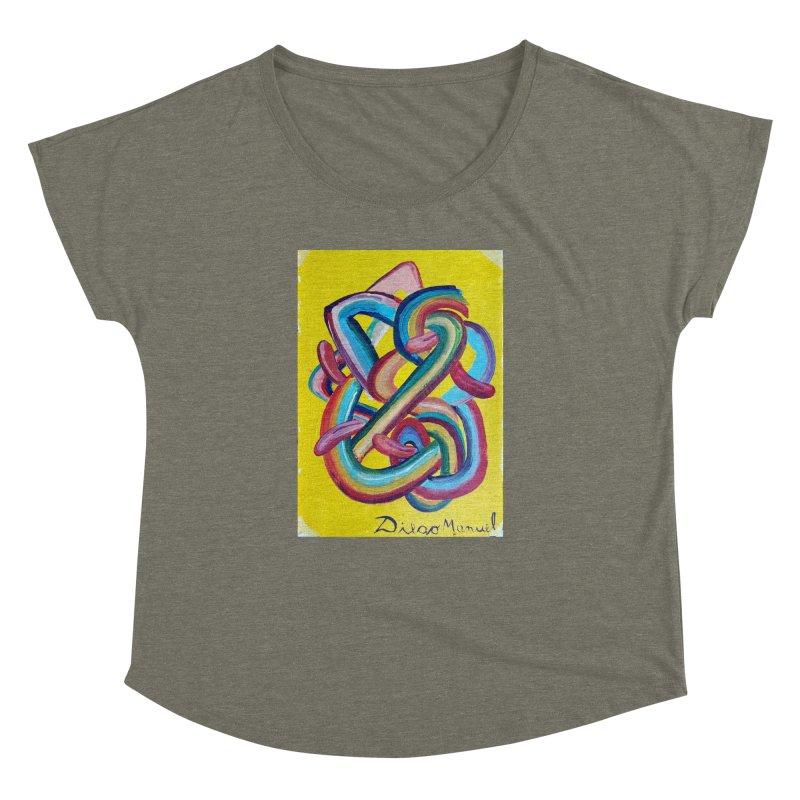 Formas en el espacio 3 Women's Dolman by diegomanuel's Artist Shop
