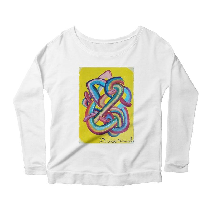 Formas en el espacio 3 Women's Scoop Neck Longsleeve T-Shirt by diegomanuel's Artist Shop