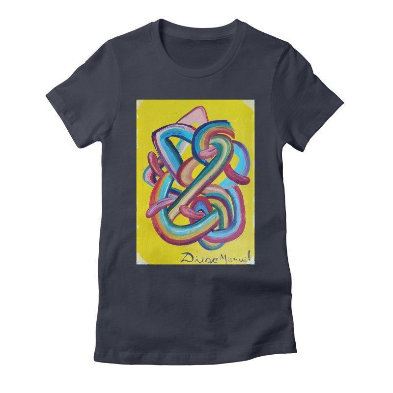 Formas en el espacio 3 Women's T-Shirt by Diego Manuel Rodriguez Artist Shop