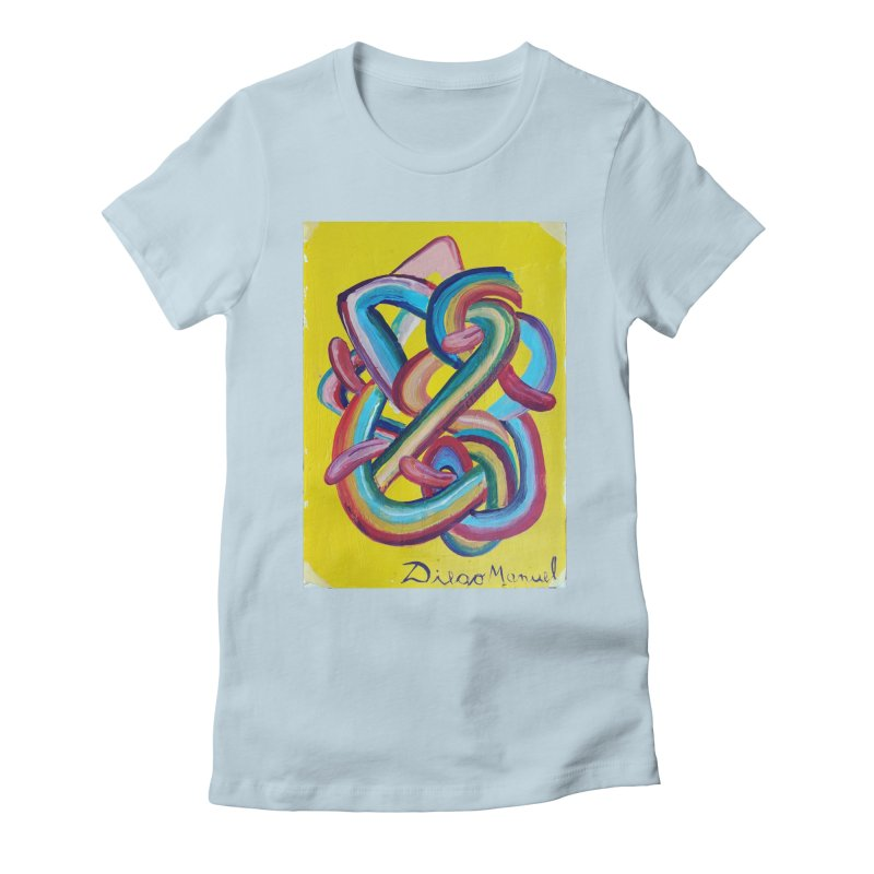 Formas en el espacio 3 Women's Fitted T-Shirt by diegomanuel's Artist Shop