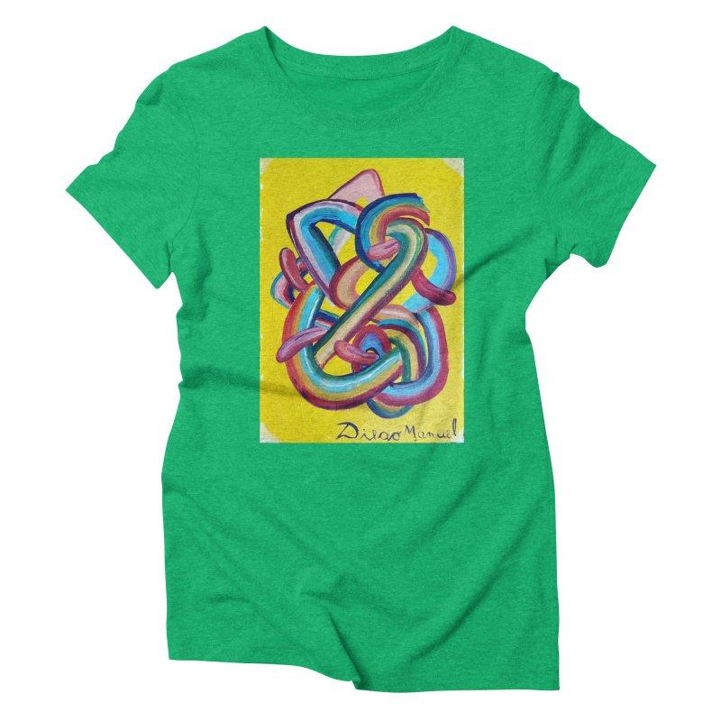 Formas en el espacio 3 Women's Triblend T-shirt by diegomanuel's Artist Shop