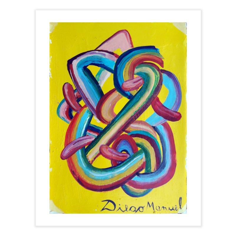 Formas en el espacio 3 Home Fine Art Print by Diego Manuel Rodriguez Artist Shop