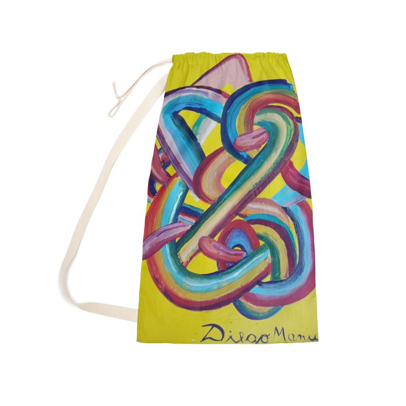 Formas en el espacio 3 Accessories Laundry Bag Bag by diegomanuel's Artist Shop