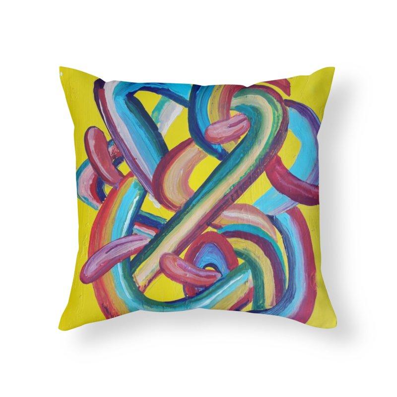 Formas en el espacio 3 Home Throw Pillow by Diego Manuel Rodriguez Artist Shop