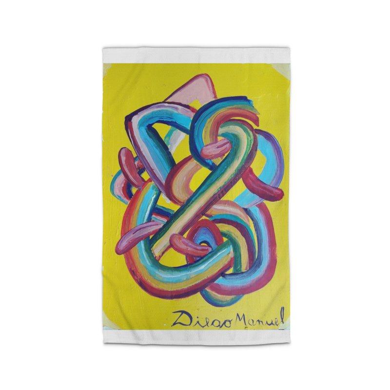 Formas en el espacio 3 Home Rug by diegomanuel's Artist Shop