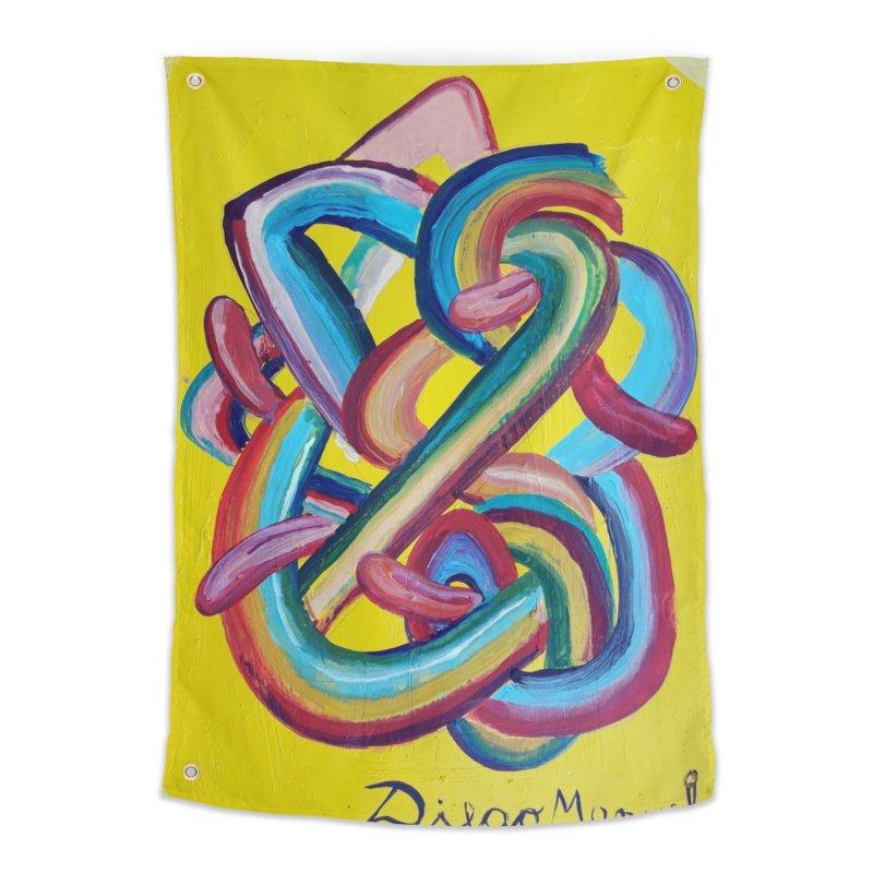 Formas en el espacio 3 Home Tapestry by diegomanuel's Artist Shop