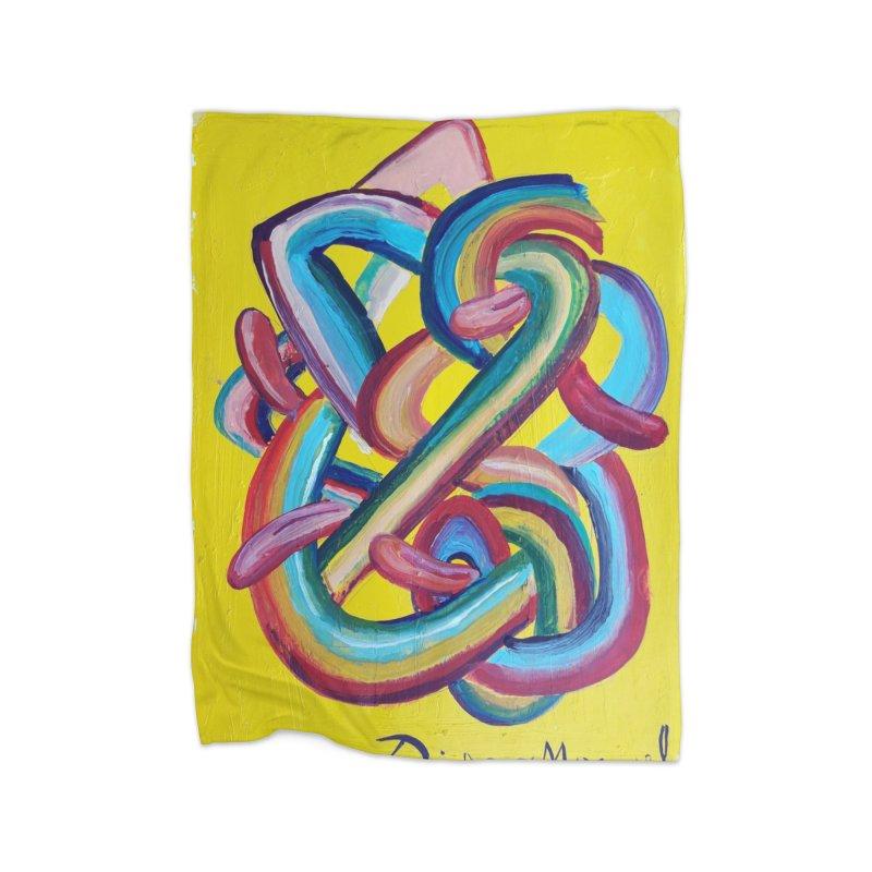 Formas en el espacio 3 Home Blanket by diegomanuel's Artist Shop