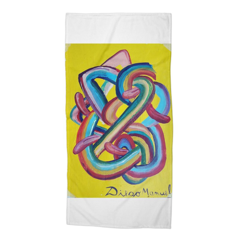 Formas en el espacio 3 Accessories Beach Towel by diegomanuel's Artist Shop