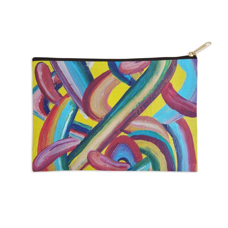 Formas en el espacio 3 Accessories Zip Pouch by diegomanuel's Artist Shop