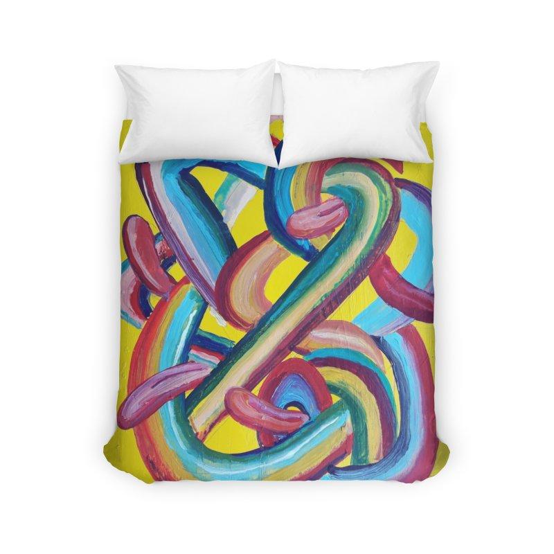 Formas en el espacio 3 Home Duvet by Diego Manuel Rodriguez Artist Shop