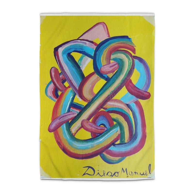 Formas en el espacio 3 Home Rug by Diego Manuel Rodriguez Artist Shop