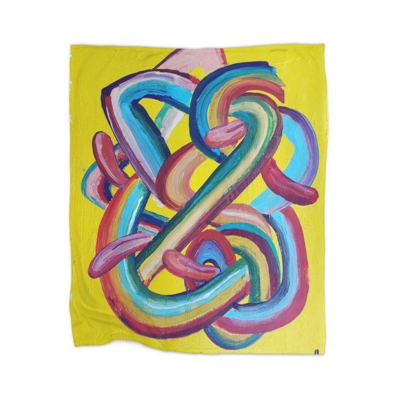 Formas en el espacio 3 Home Blanket by Diego Manuel Rodriguez Artist Shop